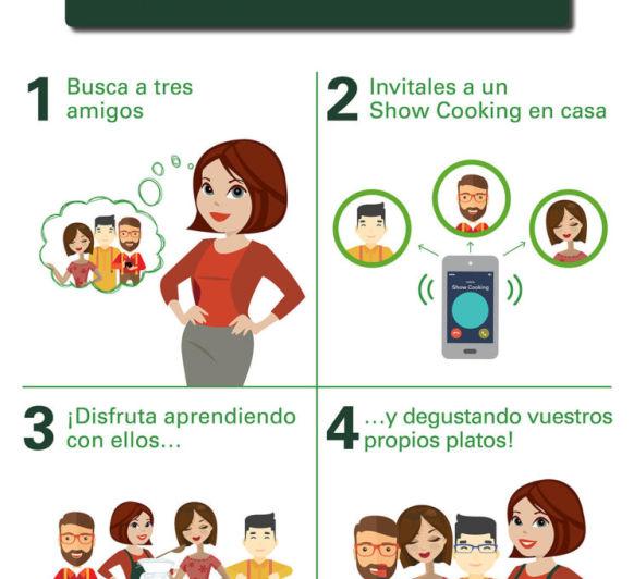 EL PLAN PERFECTO: ¡NUEVO SHOW COOKING!