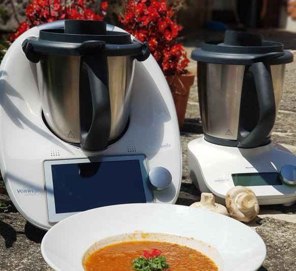 Comó preparar sopa marroquí de lentejas rojas