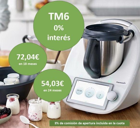 Thermomix® TM6 - FINANCIACIÓN AL 0%