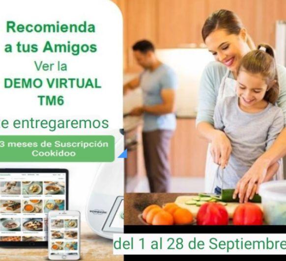 PROMO: Recomienda Demo Virtual a tus amigos