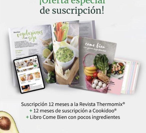 OFERTA ESPECIAL: Revista Thermomix® y Cookidoo