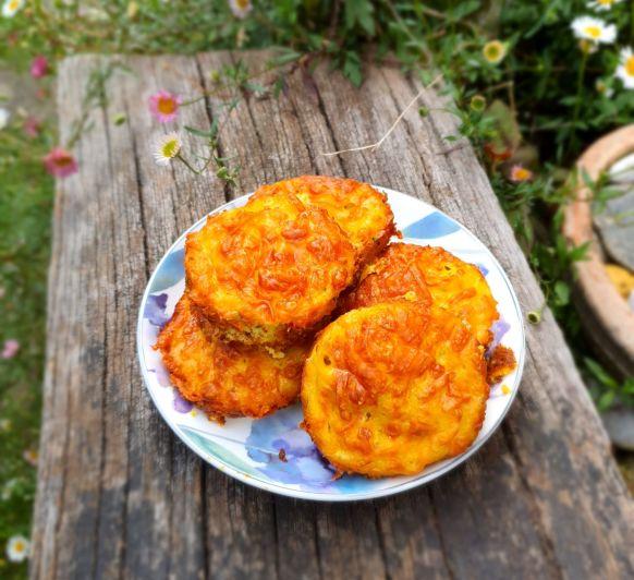 Muffins de tortilla con cebolleta. REVISTA MES DE MAYO