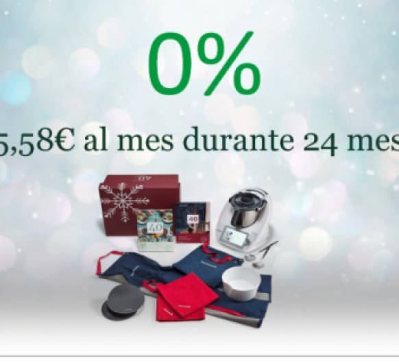 Thermomix® con 0% intereses